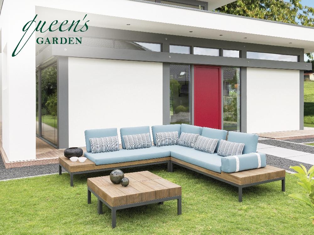 Sitzgruppe QUEENS GARDEN «COMBI» Lounge-Gartenmöbel Set 1 | Online ...