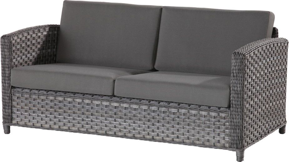 premium polyrattan gartenbank lodge 2 5er lounge sofa outdoor couch online shop g nstig angebot. Black Bedroom Furniture Sets. Home Design Ideas