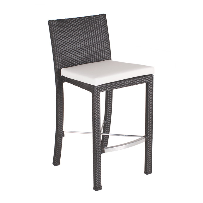 rattan barhocker m belideen. Black Bedroom Furniture Sets. Home Design Ideas