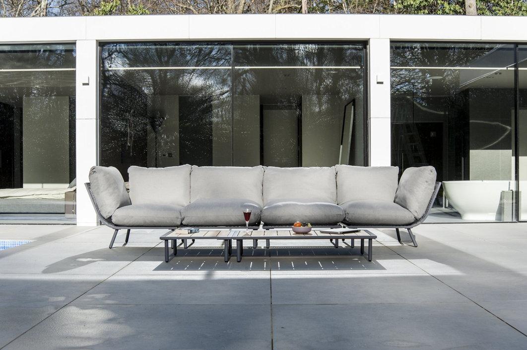 hocker alexander rose beach flint lounge fu auflage kissen grau vom gastrom bel fachh ndler. Black Bedroom Furniture Sets. Home Design Ideas