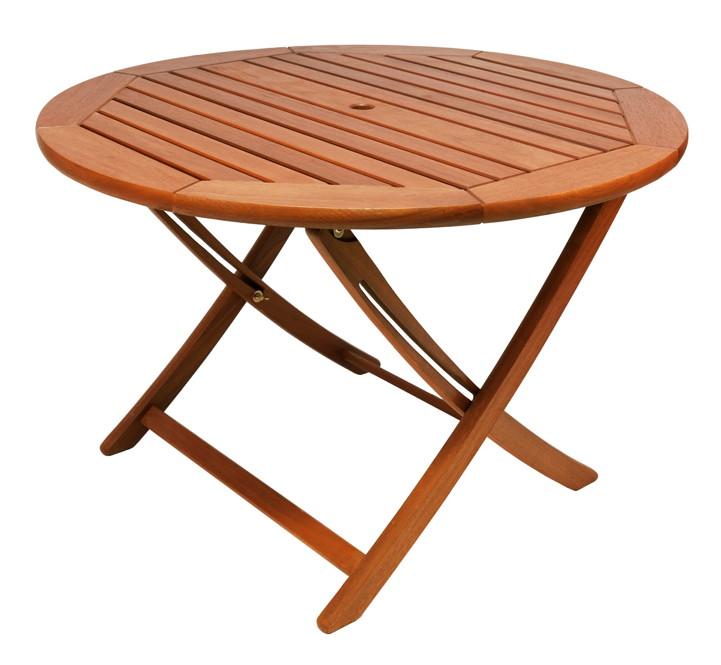 Hollywoodschaukel Holz Alexander Rose ~ Holz Gartentisch Alexander Rose «Cornis» Klapptisch rund Holztisch