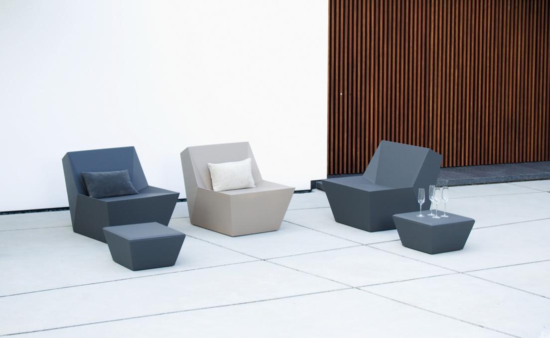 gartenstuhl fischer kyoto lounge sessel anthrazit leichter kunststoffsessel vom gastrombel. Black Bedroom Furniture Sets. Home Design Ideas