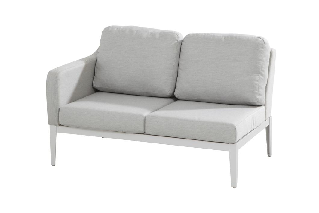 gartenbank 4seasons almeria 2er sofa couchelement armelehne rechts online shop g nstig angebot. Black Bedroom Furniture Sets. Home Design Ideas