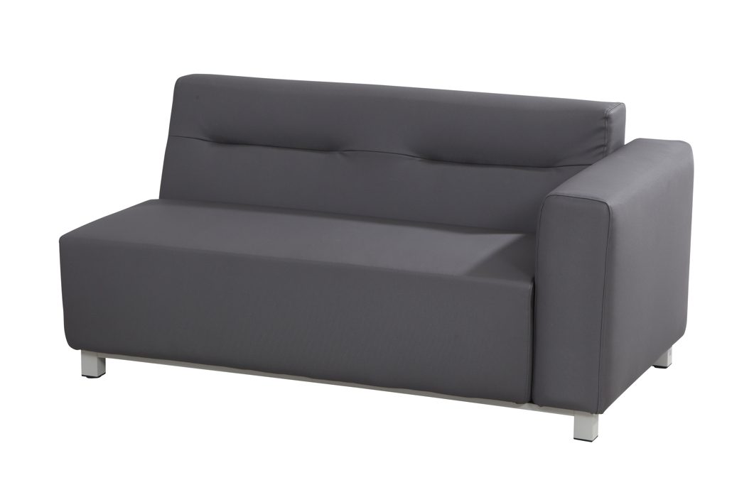 gartenbank 4seasons chivas 2er sofa armlehne links. Black Bedroom Furniture Sets. Home Design Ideas
