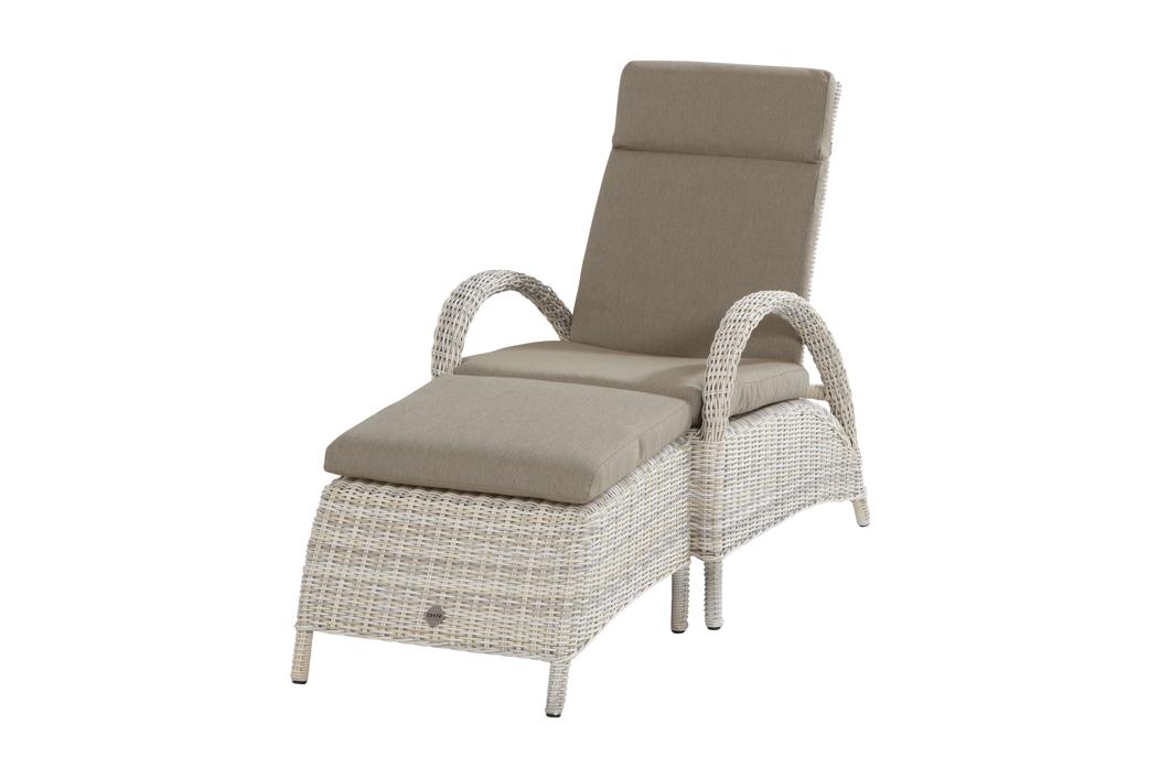gartenstuhl relaxsessel elzas sessel mit hocker geflechtsessel vom gastrom bel fachh ndler. Black Bedroom Furniture Sets. Home Design Ideas