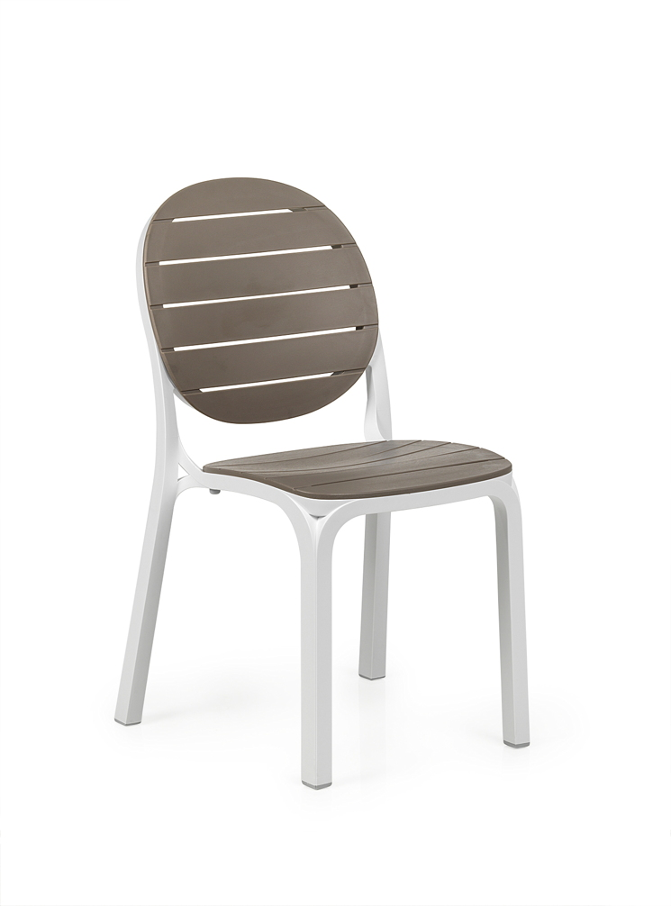gartenstuhl nardi erica wei taupe stapelstuhl. Black Bedroom Furniture Sets. Home Design Ideas